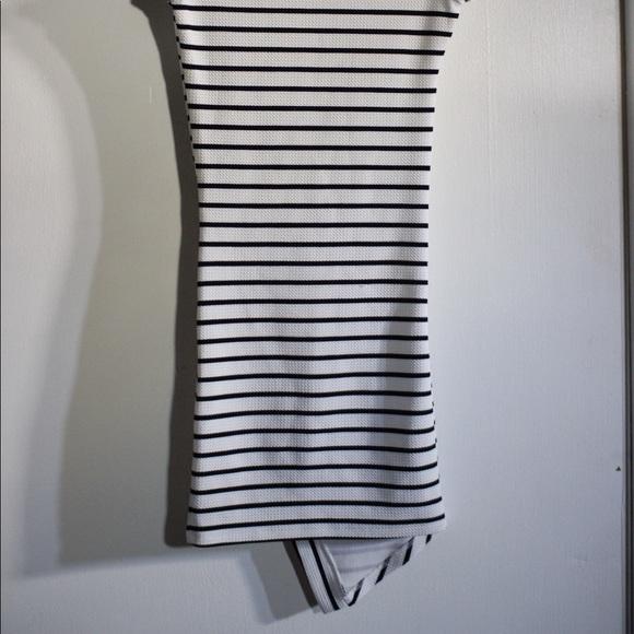 UK2LA Dresses & Skirts - UK2LA B/W Striped Dress
